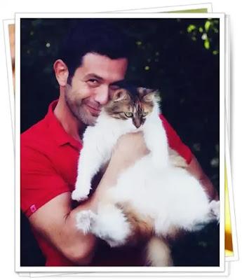 poze rare keremcem si iubita lui pisica