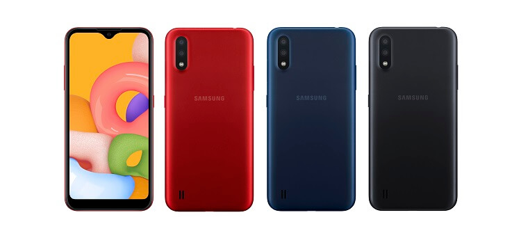 Samsung Outs Galaxy A01 in the Philippines