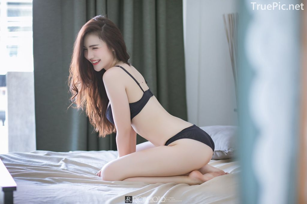 Image-Thailand-Model-Cherry-Pawan-Jaroeninlaphat-Sexy-Black-Lingerie-TruePic.net- Picture-6