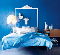 blue bedroom decoration idea