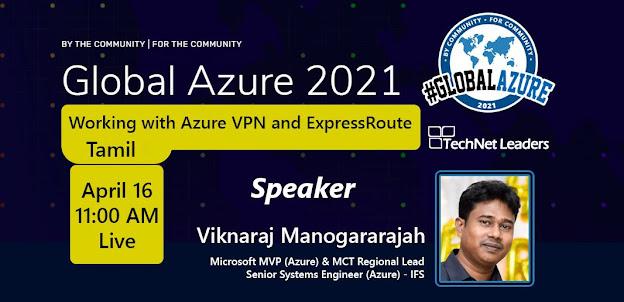 Global Azure 2021 - Sri Lanka