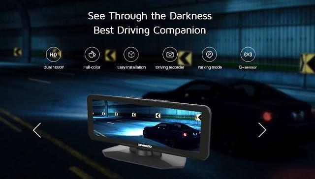 Lanmodo Vast Pro Night Vision Dash Camera