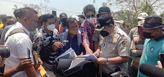 Bupati Jember Sidak dan Periksa Dokumen Usaha Tambak di Gumukmas