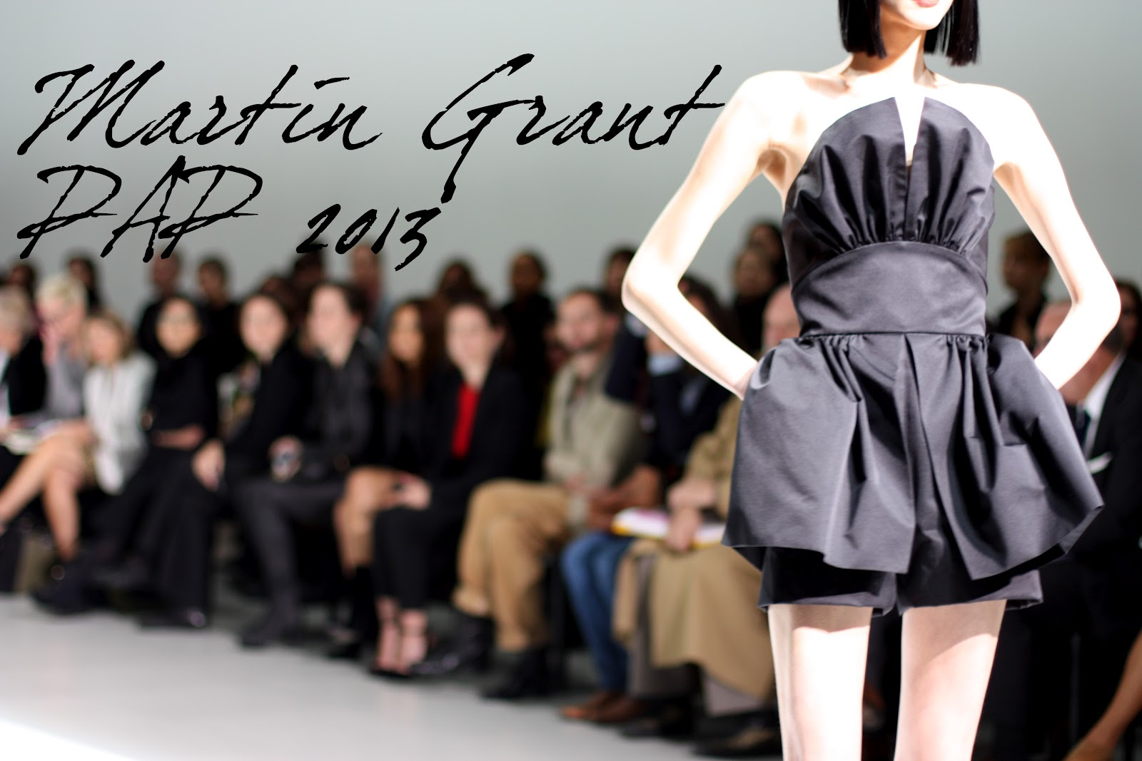 Martin Grant PE 2013 - Blog Mode - Fashion Week