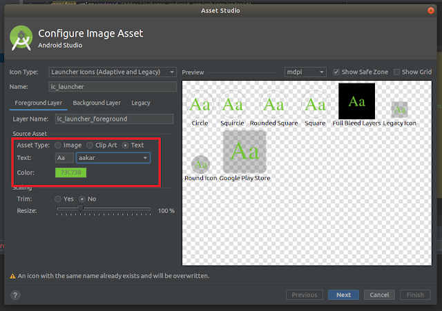 Android Studio - Text Asset