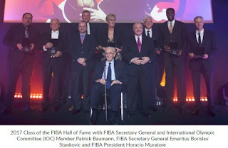 FIBA Hall of Fame's 2017 Class inducted