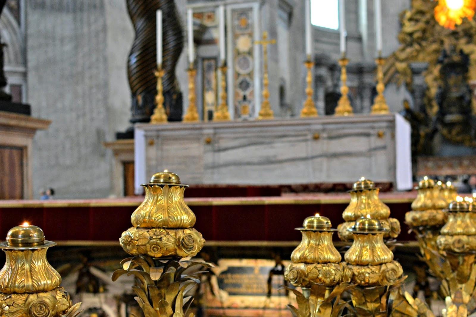 st peter's bones at st peter's basilica vatican city