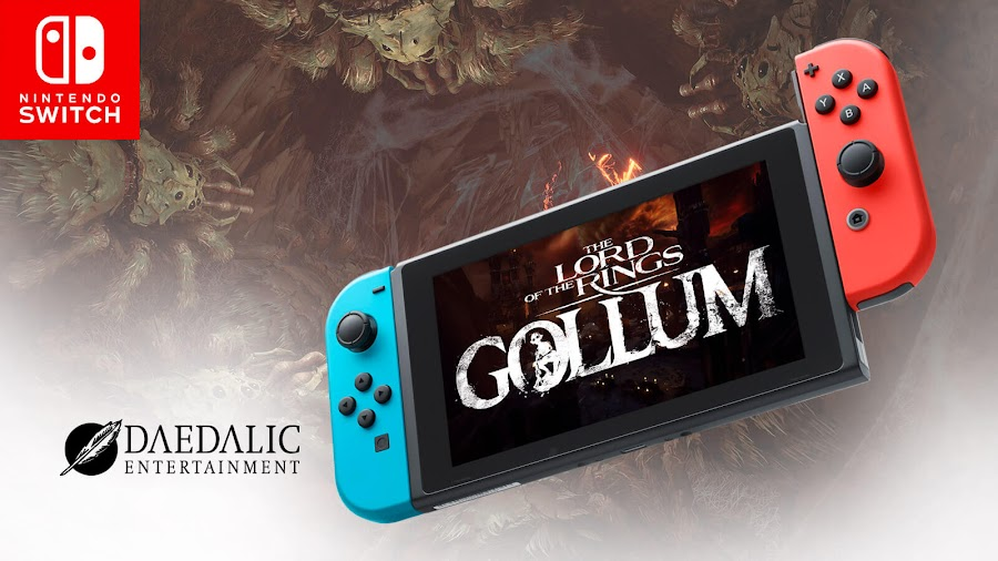 lord of the rings gollum nintendo switch release 2021 stealth adventure game pc ps4 ps5 xb1 xsx daedalic entertainment