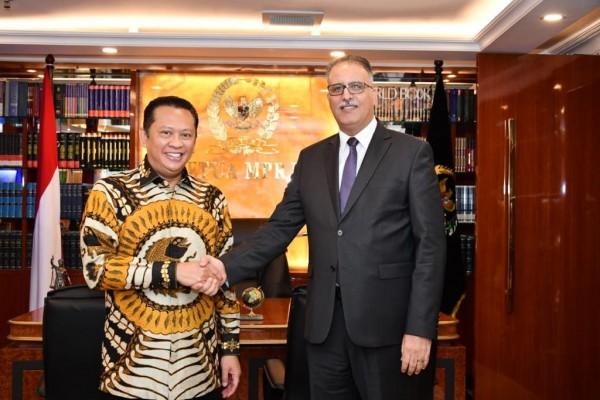 Ketua MPR Dorong Perundingan PTA Antara Indonesi - Tunisia