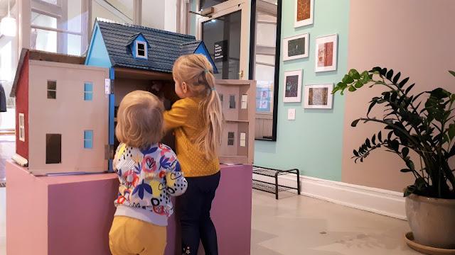 Annantalo, Helsinki, taidetalo, lasten ja nuorten taidetalo, Annankatu, nukkekoti, lapsille tekemistä helsingissä