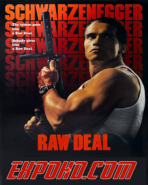 Raw Deal 1986 Full Movie Download 720p | 480p | Esub 880Mb