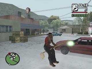 مود العصا السحريه | GTA SA ~ mop