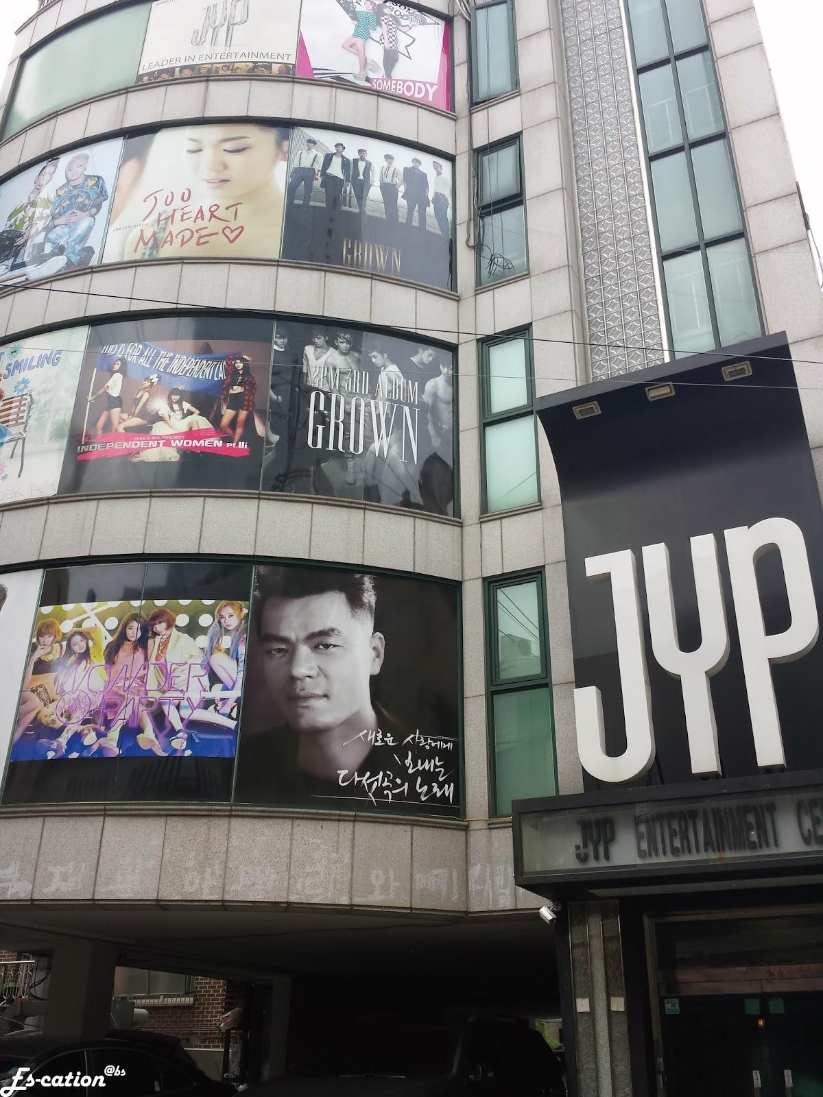 es-cation: Seoul - JYP Entertainment