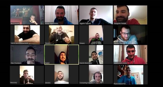 Οnline συνδιάσκεψη της ανδρικής ομάδας του Μακεδονικού