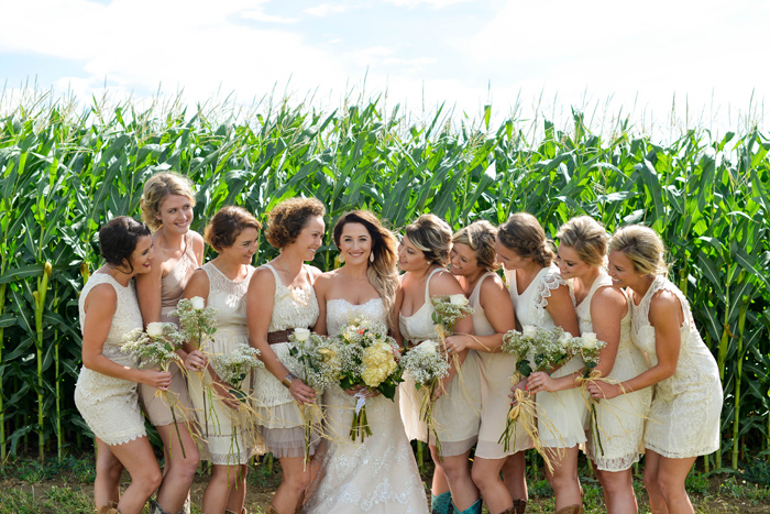 Bridesmaids / Merry Character Photography