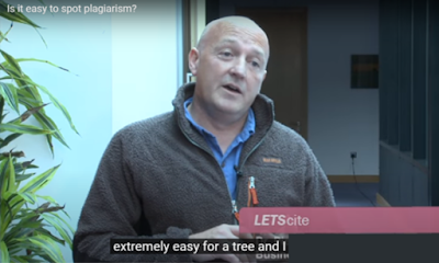 Screenshot from 'Is it easy to spot plagiarism?' 2013 DCU Library