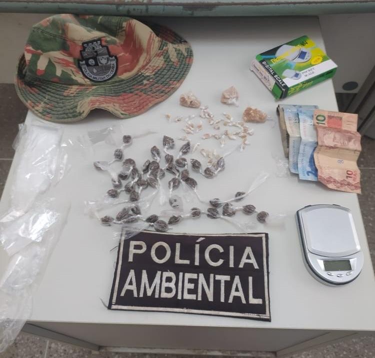 BPMA da Polícia Militar apreende drogas e prende dois suspeitos em Crato