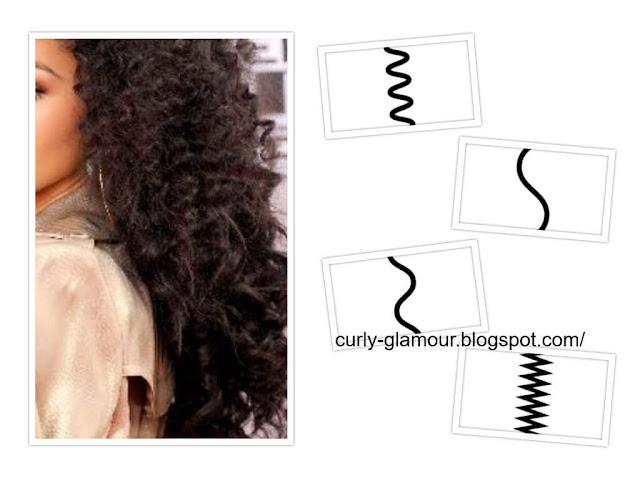 انواع الشعر الكيرلي المجعد