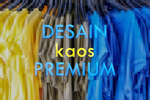 Beli ratusan desain kaos premium berkualitas harga murah
