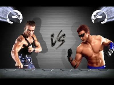 Johnny Cage vs Jean Claude Van Damme