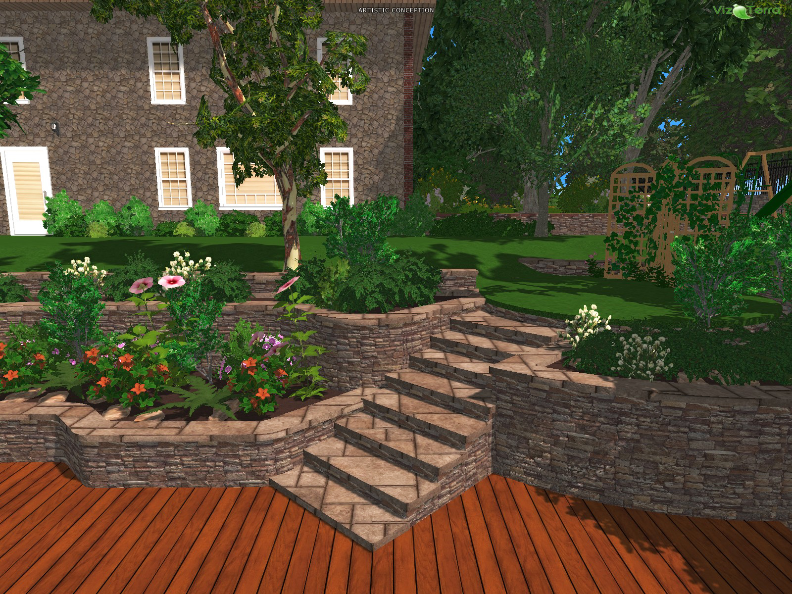 D Scanner Image D Landscape For Everyone Punch Software Home Landscape Design
