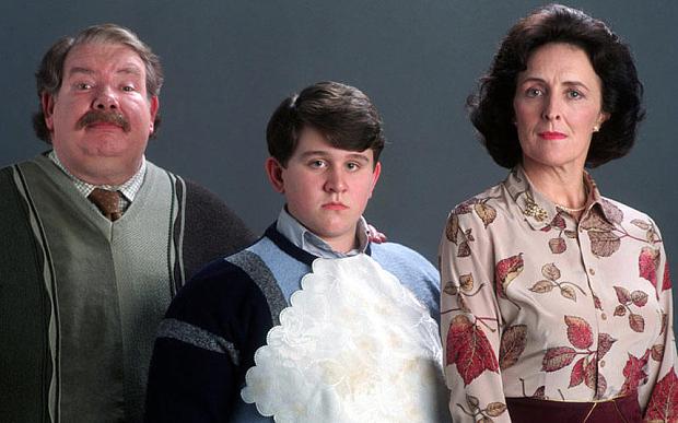 Семейство Дърсли в Хари Потър и стаята на тайните
