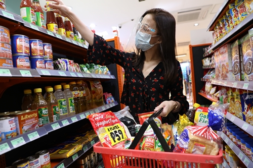 Affordable grocery items at 7-Eleven