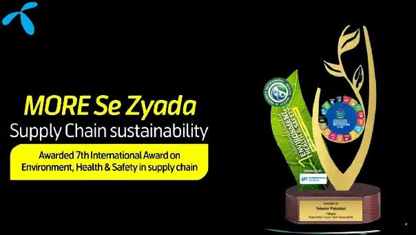 The 7th International Environment, Health & Safety Awards of 2021 are held by Telenor Pakistan.