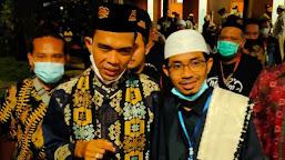 Calon Wawali Kota Mataram Ustadz Ahda Bertemu UAS, Ini Obrolannya !!