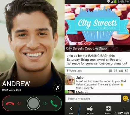 BBM 2.0 for iPhone Android + Voice Calls APK Download