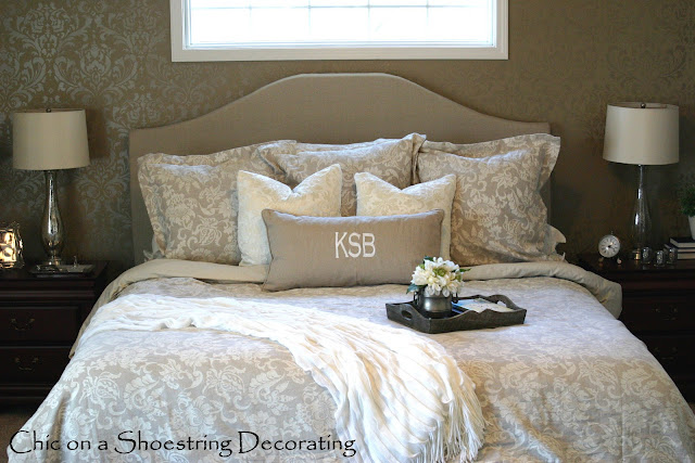 master bedroom headboards chic on a shoestring decorating how to make an 12281