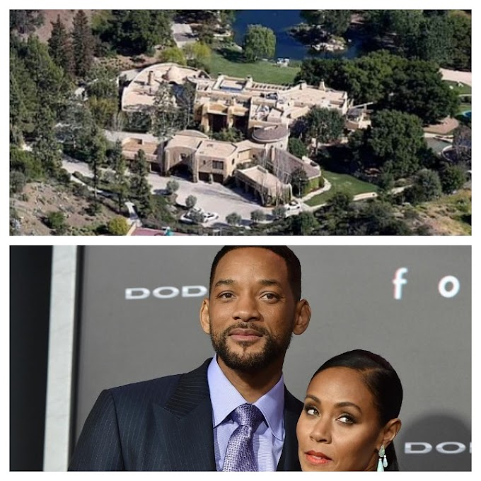 SAD NEWS: FIRE OUT BREAK AT WILL SMITH AND JADA PINKETT'S $42M CALABASAS HOME.
