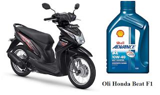 Oli yang bagus untuk motor Honda Beat F1