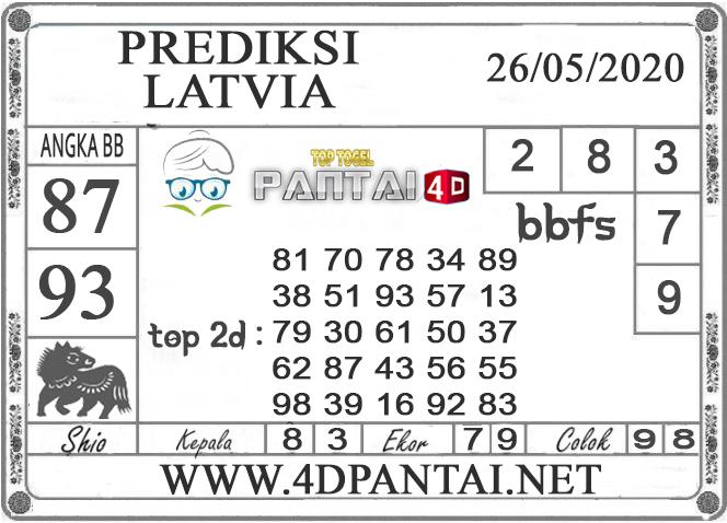 PREDIKSI TOGEL LATVIA PANTAI4D 26 MEI 2020