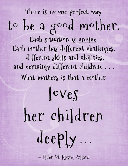 Being A Good Mom Quotes