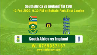 Today Match Prediction South Africa vs England 2nd T20 100% Sure