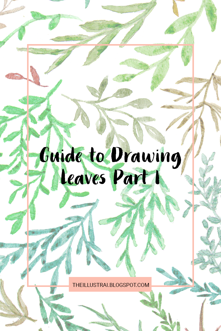If you like drawing plants and flowers as much as I do, then you probably find yourself getting in a rut and drawing the exact same styles over and over again. As a result, I have created this reference so that you can switch up the leaf styles in your artwork. Click through to the post for part one of my guide to drawing leaves series!