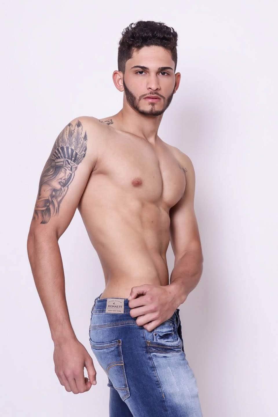 Mister Model Nacional São Paulo 2019 - Jonatas Reis. Foto: Divulgação