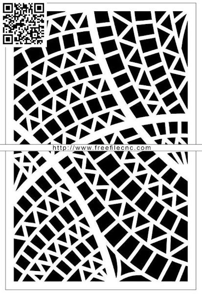Design pattern panel screen E0009852 file cdr and dxf free vector download for Laser cut CNC