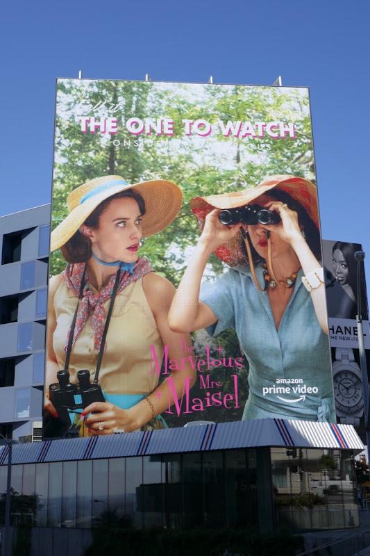 Mrs Maisel Call it one to watch 2019 Emmy FYC billboard
