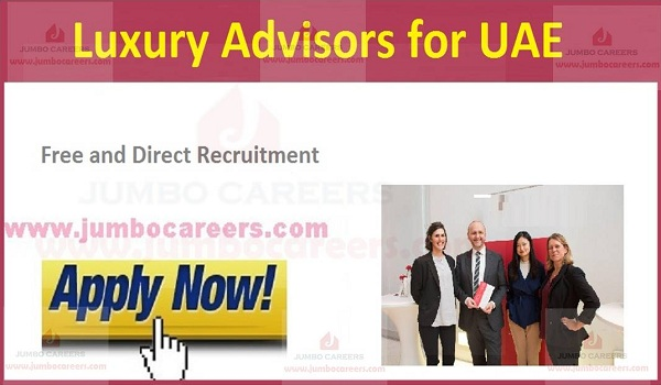 Recent vacancies in Gulf countries, New job openings in UAE,