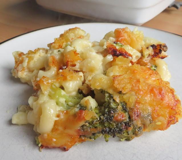 Broccoli & Cauliflower Mac & Cheese