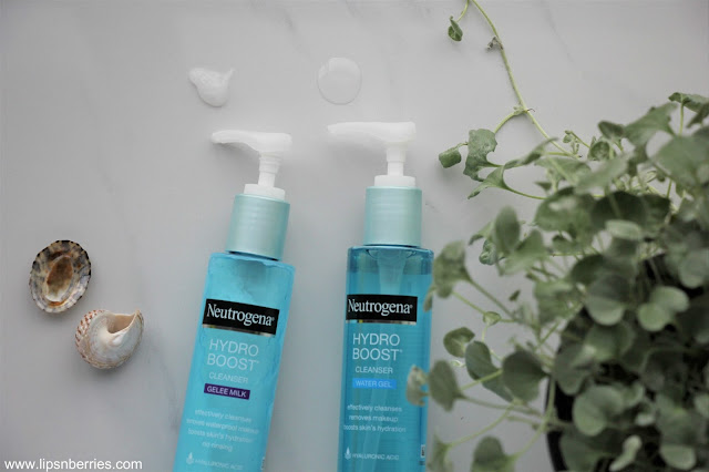 Neutrogena Hydro boost water gel cleanser review