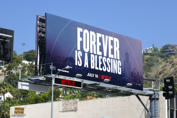 Old Guard Forever blessing billboard