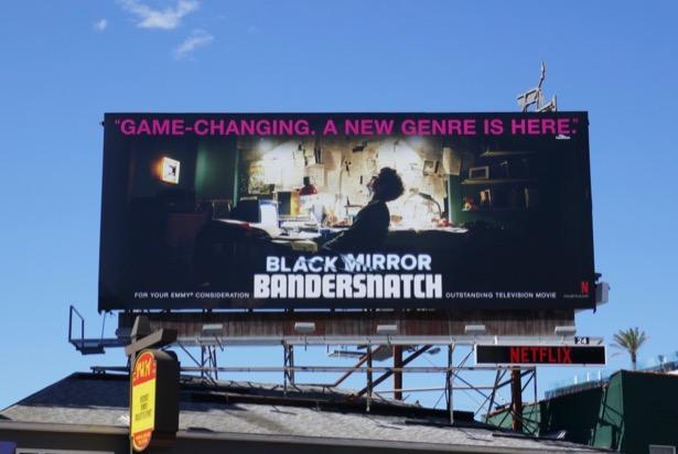 Black Mirror Bandersnatch 2019 Emmy FYC billboard