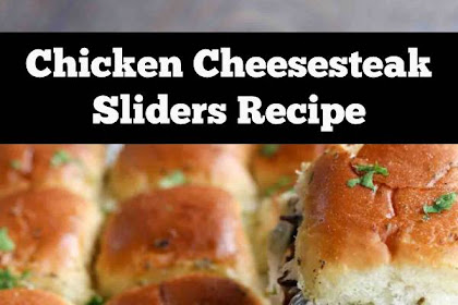 Chicken Cheesesteak Sliders | Easy Game Day Recipe or Weeknight Dinner For Family #dinner #chicken #cheesesteak #sliders