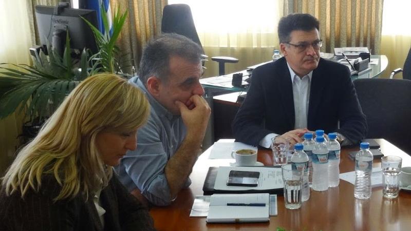 Σύσκεψη Πέτροβιτς - Βίτσα για την αποκατάσταση των ζημιών που υπέστη η Σαμοθράκη από ακραία καιρικά φαινόμενα