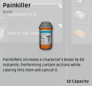 Болеутоляющие (Painkillers) в Playerunknown's Battlegrounds