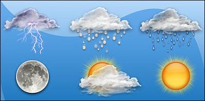 Aplicación tumeteo temperatura tiempo clima