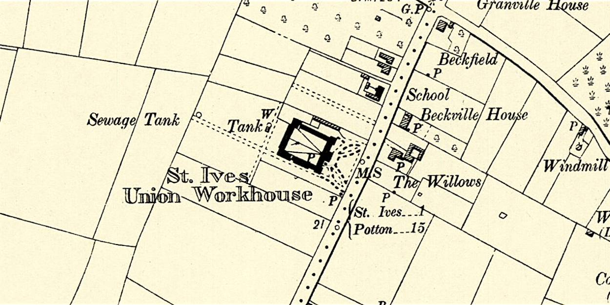 St Ives Union Workhouse